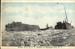 Wreck of US AT Sumner