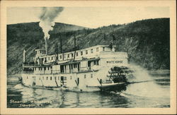 Steamer Whitehorse on the Water