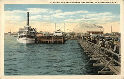 Electric Pier and Favorite Line Wharf