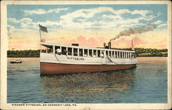 Steamer Pittsburg