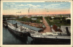 Bird's Eye View of Docks