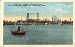 St. John's River Bridge and Jacksonville Skyline