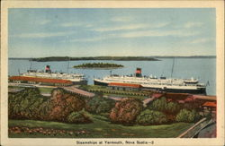 Steamships at Yarmouth