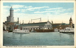 The Grand Trunk Pacific and Colman Docks