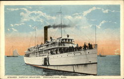 "Steamer ""Dorothy Bradford"" on the Water"