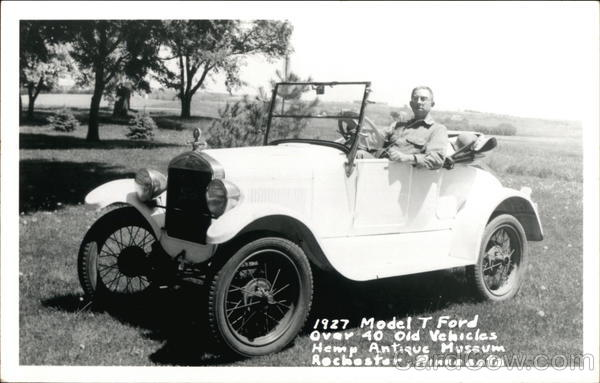 1927 Model T Ford Cars