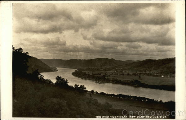 The Ohio River New Martinsville West Virginia