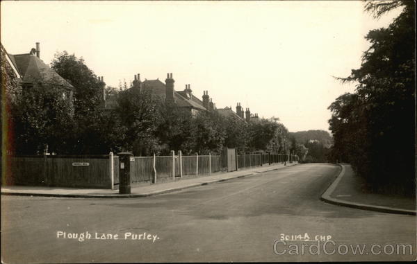 Plough Lane Purley England