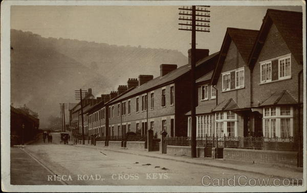 Risca Road Cross Keys Wales
