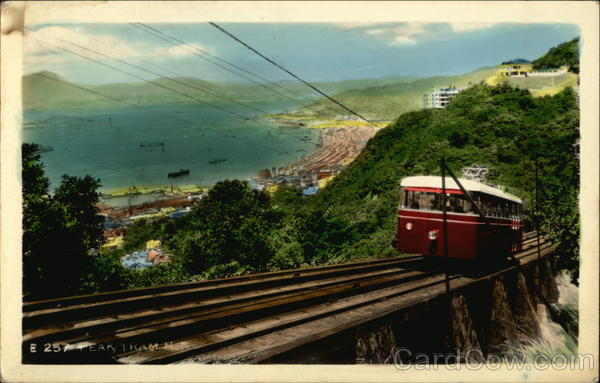 The Peak Tramway Hong Kong China