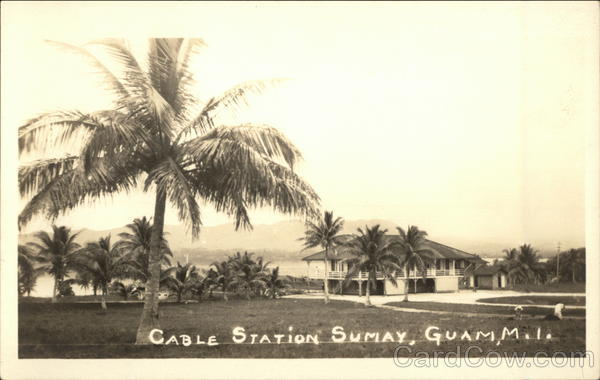 Cable Station Sumay Guam South Pacific