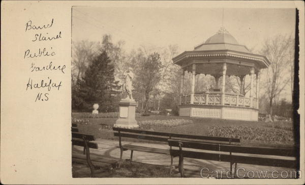 Band Stand at Public Garden Halifax Canada Nova Scotia