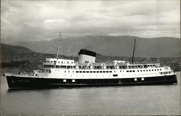 Princess of Nanaimo Steamers