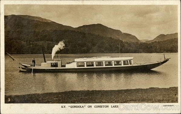 S.V. Gondola Coniston Lake England
