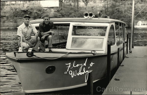 Floyd & Woody With Boat Boats, Ships