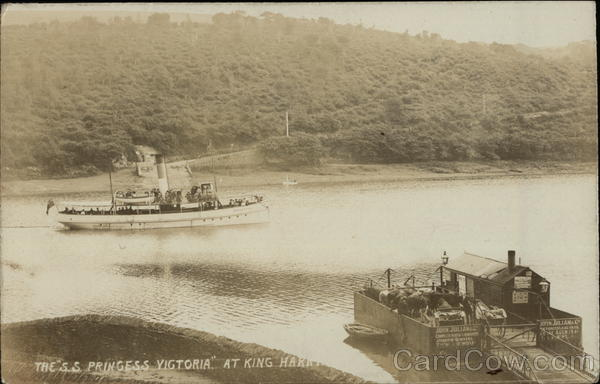 S.S. Princess Victoria at King Harry Truro England