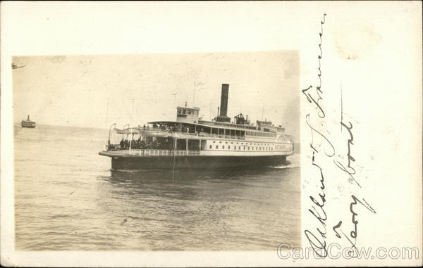 Steamer Sacramento Oakland California