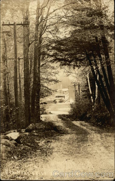 Ben Mere Drive Showing Steamer Lake Sunapee New Hampshire