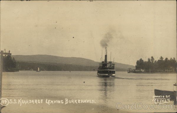 S.S. Kearsarge Leaving Burkehaven New Hampshire