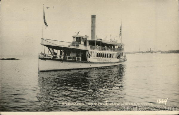 Steamer Griswold New London Connecticut