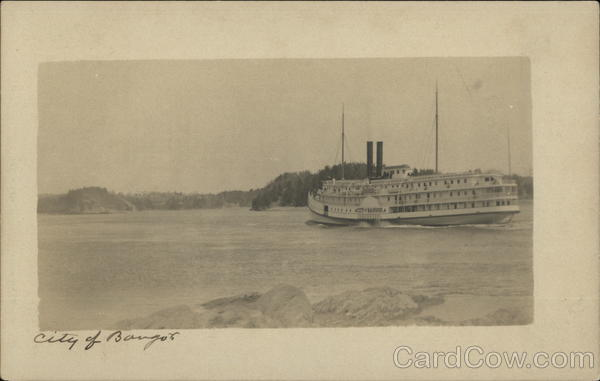 Steamer City of Bangor Steamers