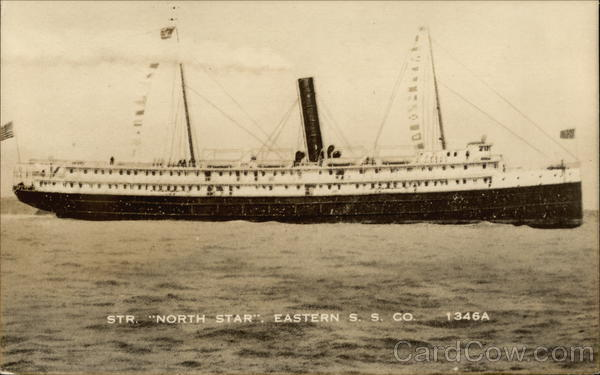 Steamer North Star, Eastern SS Co. Steamers