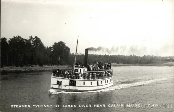 Steamer Viking Calais Maine