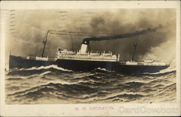 S.S. Momus New Orleans Louisiana Steamers