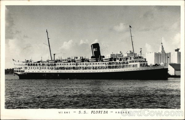 SS Florida Miami Steamers