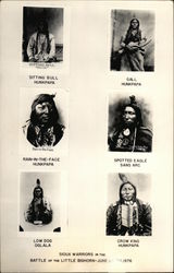 Sioux Warriors in the Battle of the Little Bighorn