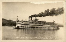 Steamer Capitol on the Water