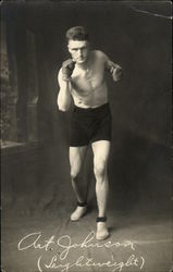 Art Johnson - Lightweight Boxer