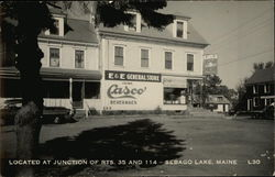 E&E General Store - Located at Junction of Routes 35 & 114 Postcard