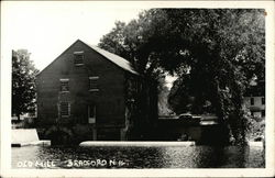Water View of the Old Mill