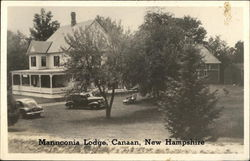 Mannconia Lodge Postcard