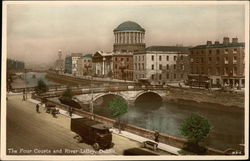 The Four Courts and River Liffey