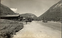 Mts. Willey, Willard and Webster - Crawford Notch State Park