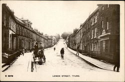 Long View Of Lemon Street