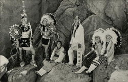 Group in Native American Costume