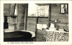 Cabin Interior, Three Mile Island