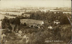 View of Brent Knoll