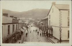 View of Town Street Briton Ferry