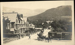 Station Road Postcard