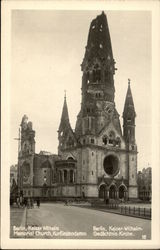 Kaiser Wilhelm Memorial Church, Kurfurstendamm