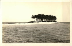 Water View of Sandy Cay Postcard