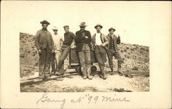 Gang of Men at 99 Mine