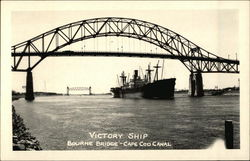 Victory Ship, Bourne Bridge, Cape Cod Canal
