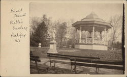 Band Stand at Public Garden