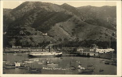Boats in Avalon, Catalina Isle