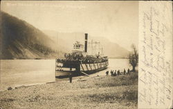 River Steamer at Collins Landing
